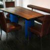 Baumtisch Esszimmer aus Räuchereiche