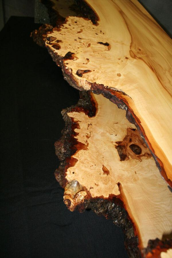 Lowboard Chestnut Live Edge Möbel
