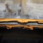 Lowboard Chestnut Naturbaumkante