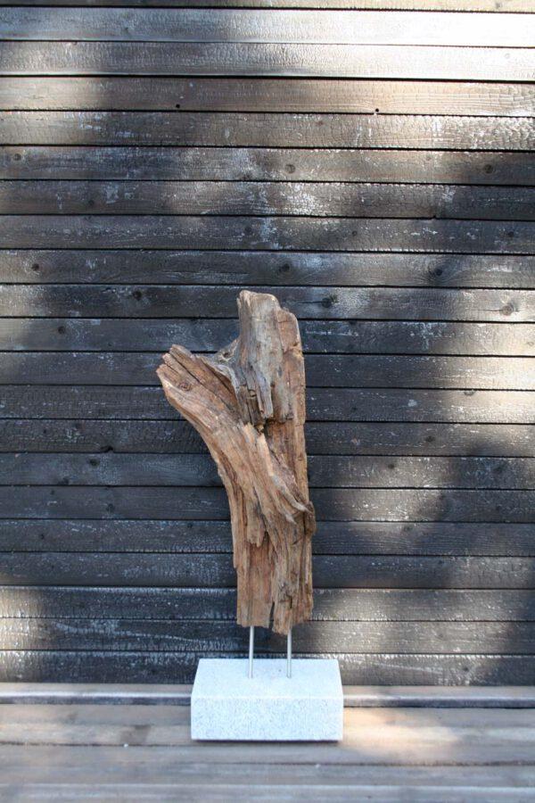 Skulptur Mooreiche Look