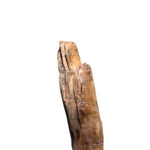 Skulptur Mooreiche Wolf