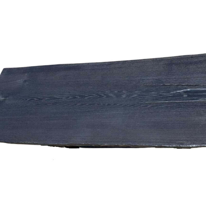 Baumscheibe Tischplatte Yakisugi Eiche