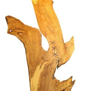 Holzkunst mit Naht