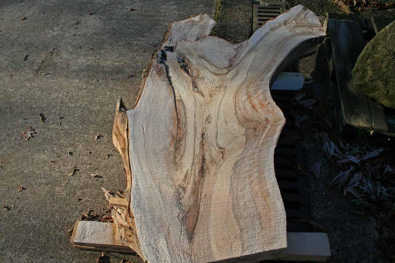 Wood on the rocks Buchen Massivholz Tischplatte
