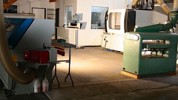 Blick in die Werkstatt unserer Manufaktur