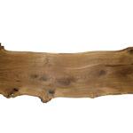 Baumscheibe mit hohem Astanteil