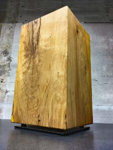 Massivholz Eichenhocker Beistelltisch